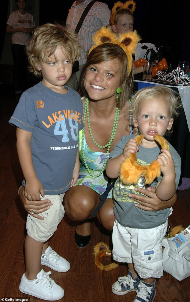 Family: Bobby is the oldest son of the late Jade Goody, who passed away in 2009 at the age of 27 after a battle with cervical cancer (pictured alongside younger brother Freddie in 2006)