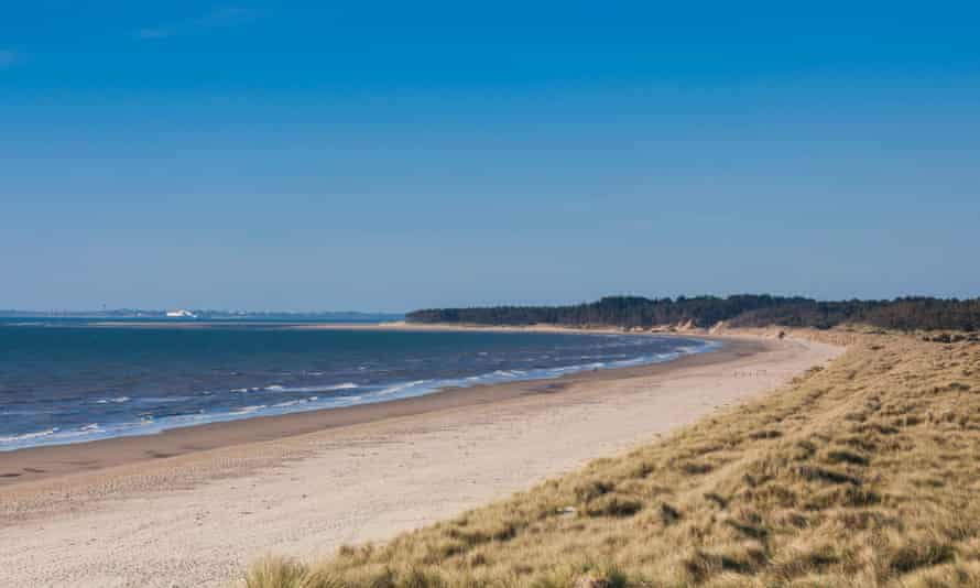 Curracloe beach, where scenes from the film Saving Private Ryan were filmed.