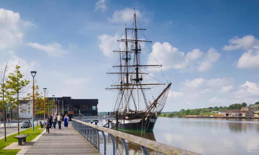 Dunbrody Famine Ship, New Ross, County Wexford, Ireland.