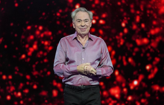 Editorial use only Mandatory Credit: Photo by ITV/Kieron McCarron/REX (11806354af) Sir Andrew Lloyd Webber. 'All Star Musicals' TV Show, UK - 21 Mar 2021 All Star Musicals, is a British ITV entertainment special in which a line-up of six celebrities embark on the ultimate musical theatre masterclass - culminating in a show stopping one-night extravaganza. Actress Jessica Hynes, barrister and broadcaster Robert Rinder, actor Barney Walsh, political journalist Robert Peston, doctor and presenter Dr Ranj Singh, and actress Luisa Bradshaw-White aim to impress the virtual audience, and the star panel of Elaine Paige, Trevor Dion Nicholas (Hamilton, Aladdin) and Samantha Barks (Les Miserables, Frozen), with John Barrowman back as the show?s host.