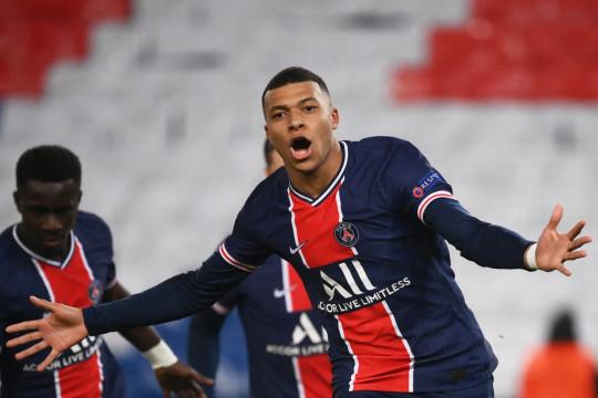PSG star Kylian Mbappe