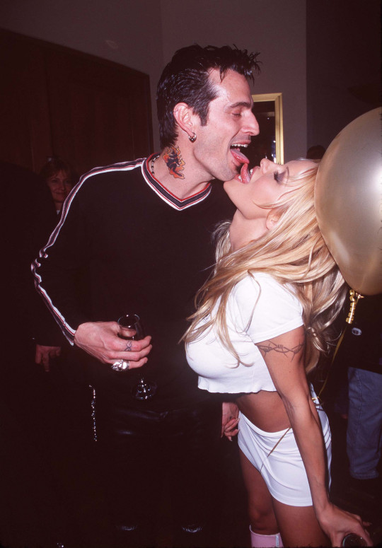 Pamela Anderson and Tommy Lee.