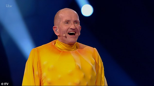 Revealed! It comes after Eddie The Eagle was unmasked as Rubber Chicken on Tuesday night's edition of The Masked Dancer as he admitted he was 'gutted' to leave the ITV competition