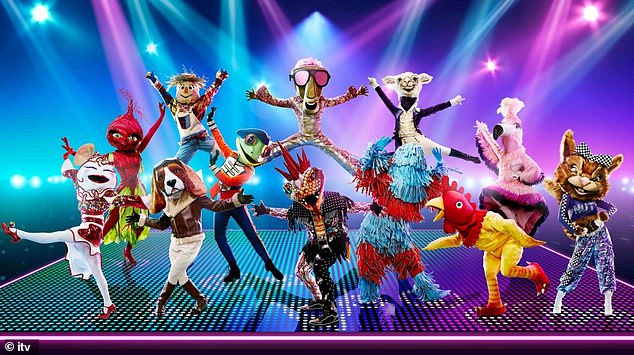 Concept:The Masked Dancer sees 12 celebrity contestants perform in extravagant costumes, carwash, beagle, squirrel, rubber chicken, flamingo, and frog danced on Sunday night