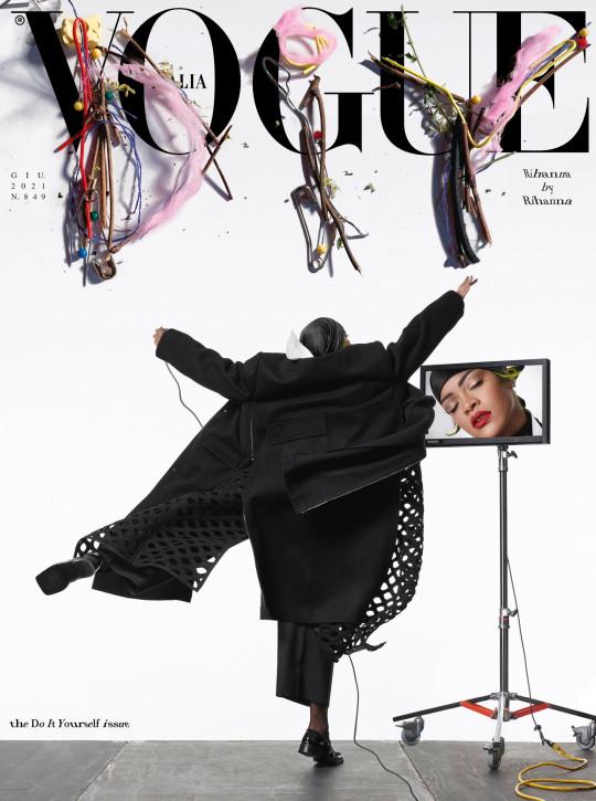 Vogue Italy Rihanna by Rihanna, Editor-in-chief Emanuele Farneti, Creative Director Ferdinando Verderi