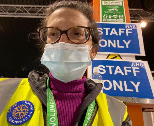 Danielle has been volunteering since December