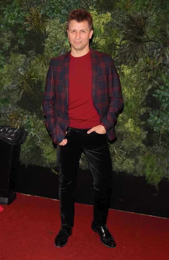 Pasha Kovalev on red carpet