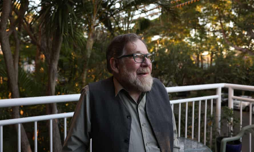 Bruce Cowper at his home in Sydney.