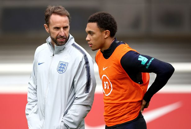 Southgate has lost the services of Alexander-Arnold