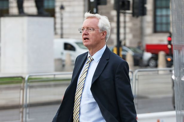 """David Davis today warned the cuts mean """"thousands will die"""""""