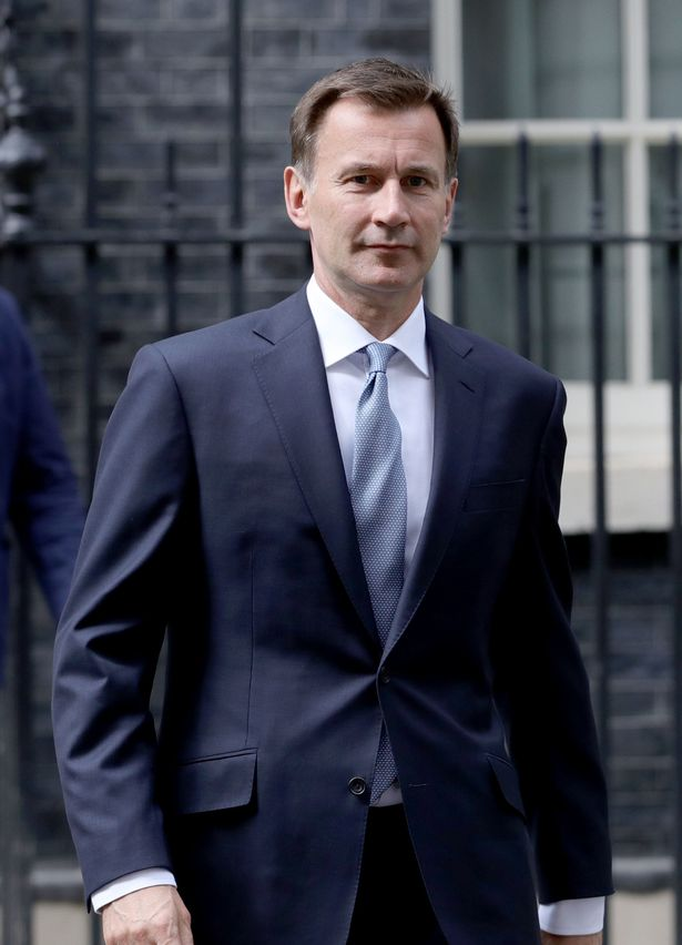 Jeremy Hunt is among the MPs challenging the government