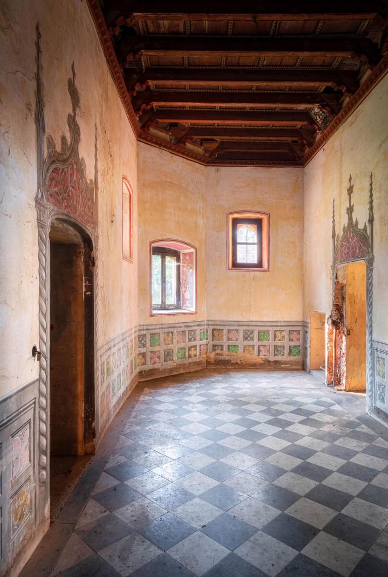 A hallway