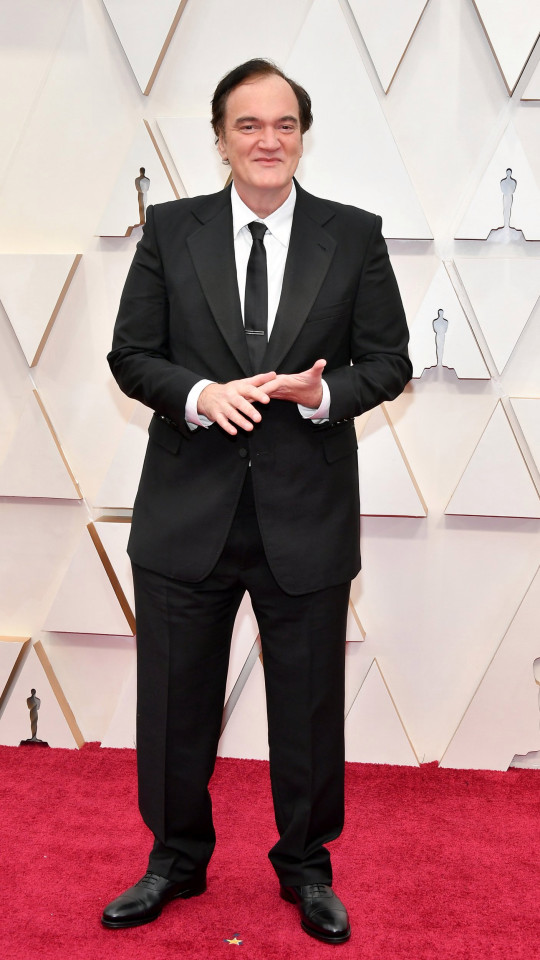 Quentin Tarantino attends the 92nd Annual Academy Awards at Hollywood and Highland on February 09, 2020 in Hollywood, California
