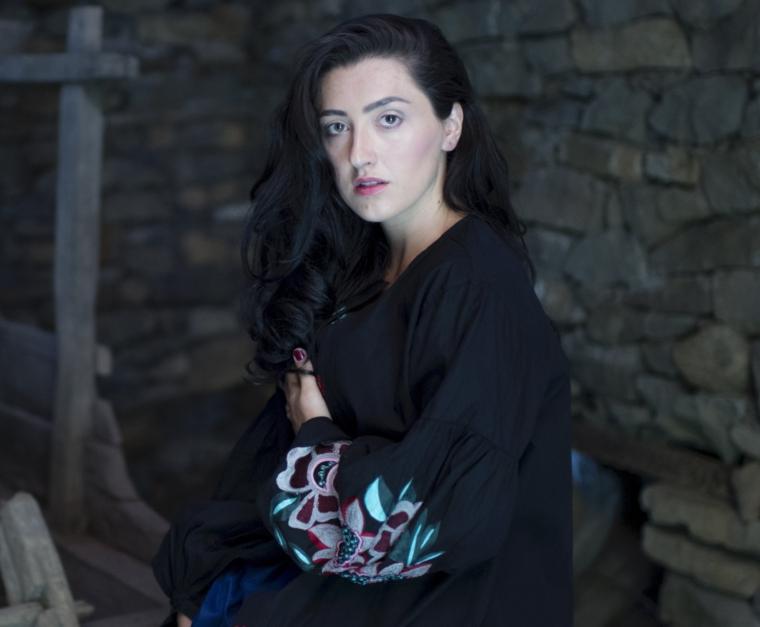 Soprano singer Elbenita (Photo: Arben Llapashtica)