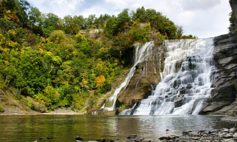 Ithaca Falls, New York state.