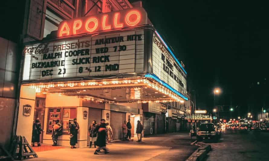 Apollo Theatre on 125th Street, Harlem, New York.