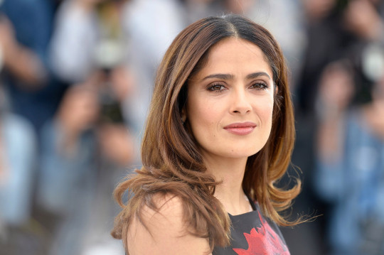 Actress Salma Hayek at the 68th Annual Cannes Film Festival