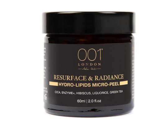 001 Skincare Resurface and Radiance Hydro-Lipids Micro-Peel