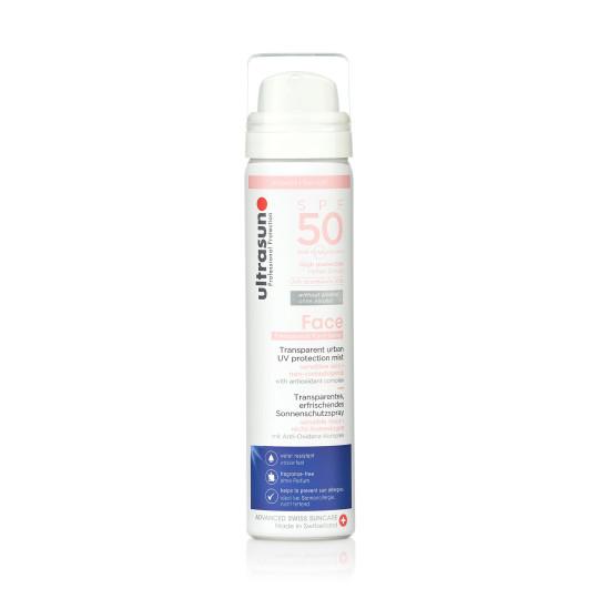 UV Face & Scalp Mist SPF50