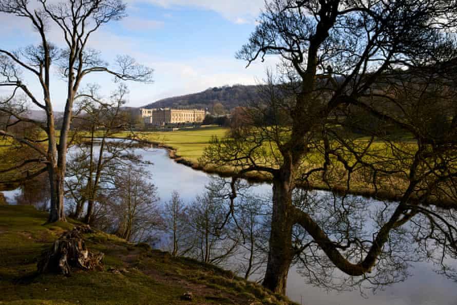 Chatsworth House, Derbyshire.