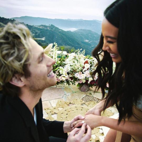 9666113 5 Seconds of Summer Luke Hemmings reveals he got secretly engaged to his long-time girlfriend Sierra Deaton