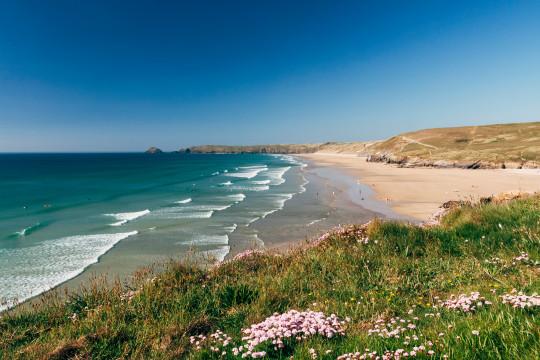 8. Perranporth Beach, Cornwall