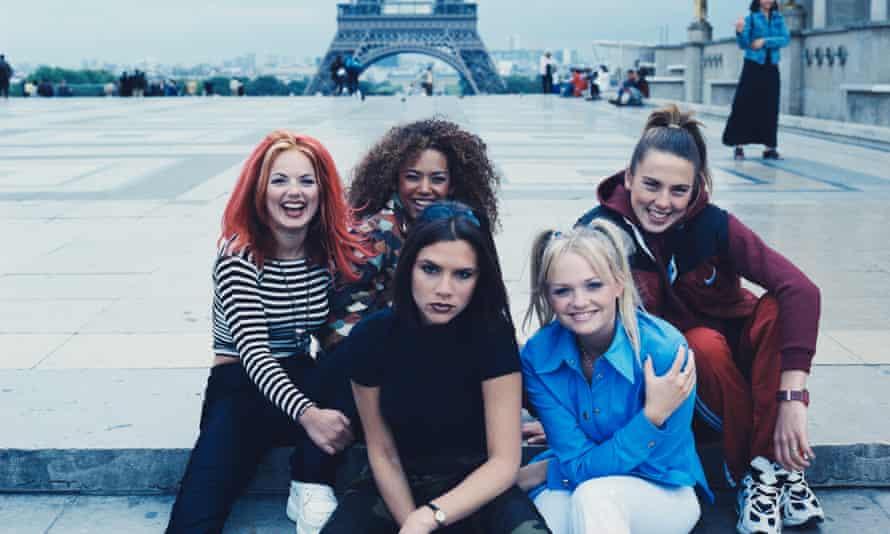 Spice Girls in Paris, 1996