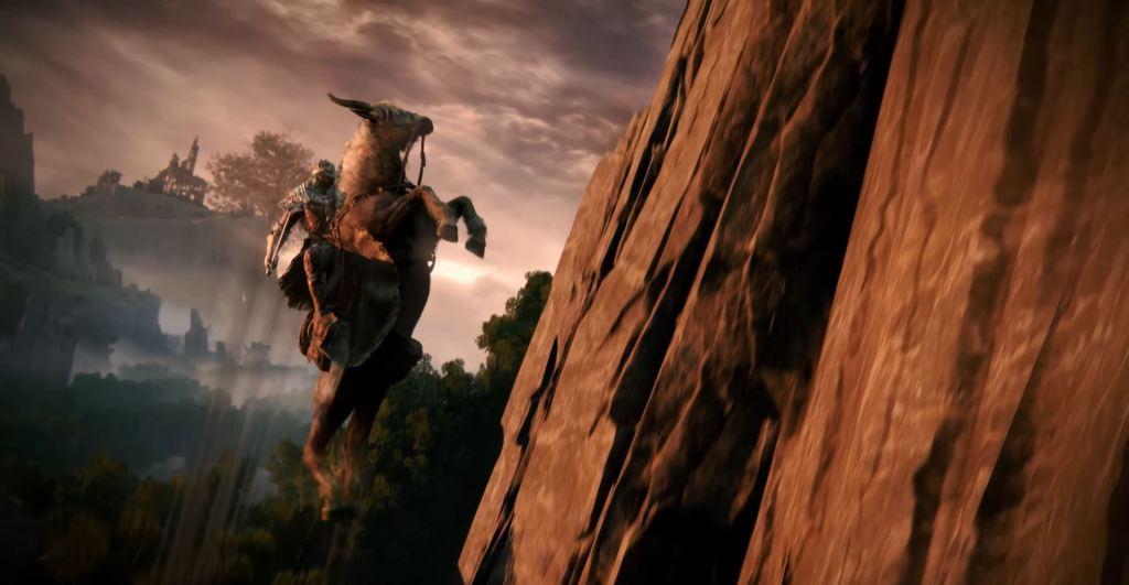 Elden Ring trailer horse flying