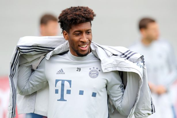 Manchester United are ready to match Kingsley Coman's wage demands
