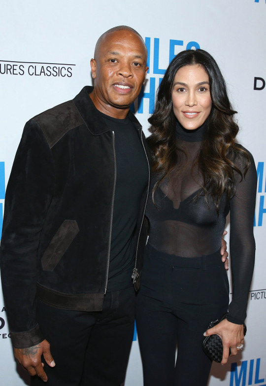 Dr. Dre and estranged wife Nicole Young