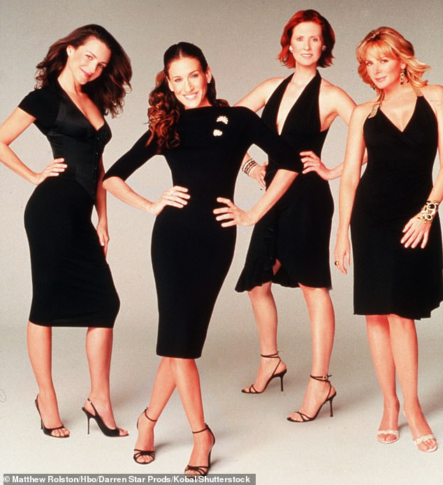 All but one:The actress, 56, was at a table read for the new series which has been in the works for years. Her co-stars will be Cynthia Nixon and Kristin Davis but not Kim Cattrall who asked to not be in the series. Seen in 1998 in a photo by Matthew Rolston