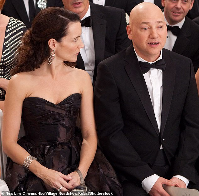 Love prevails:Evan Handler will reprise his role as Harry Goldenblatt, who married Charlotte