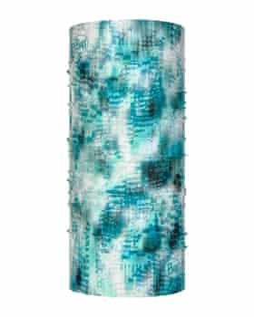 Buff's turquoise neck tube