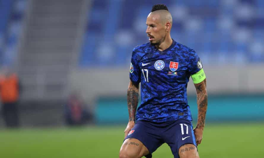 Slovakia's Marek Hamšík.