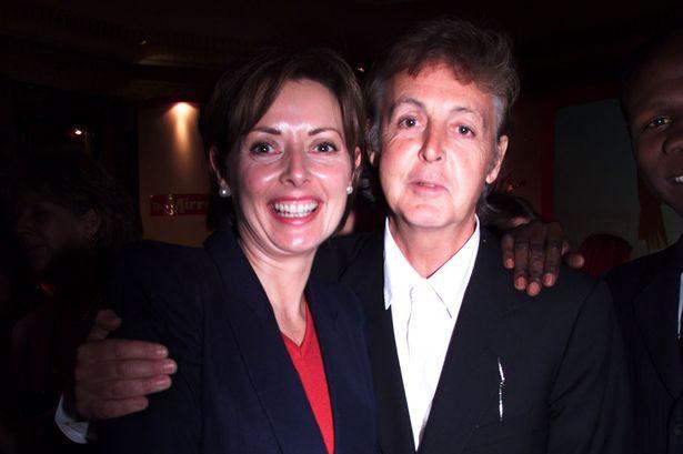 Carol and Paul McCartney at awards in May 1999