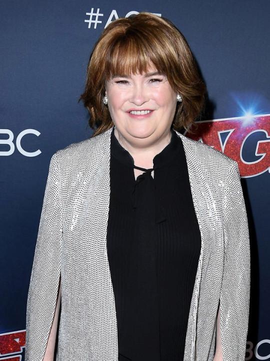Susan Boyle on red carpet