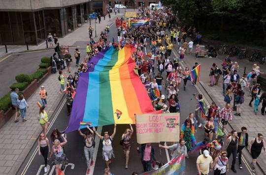 Bristol Pride's 10th anniversary in 2019