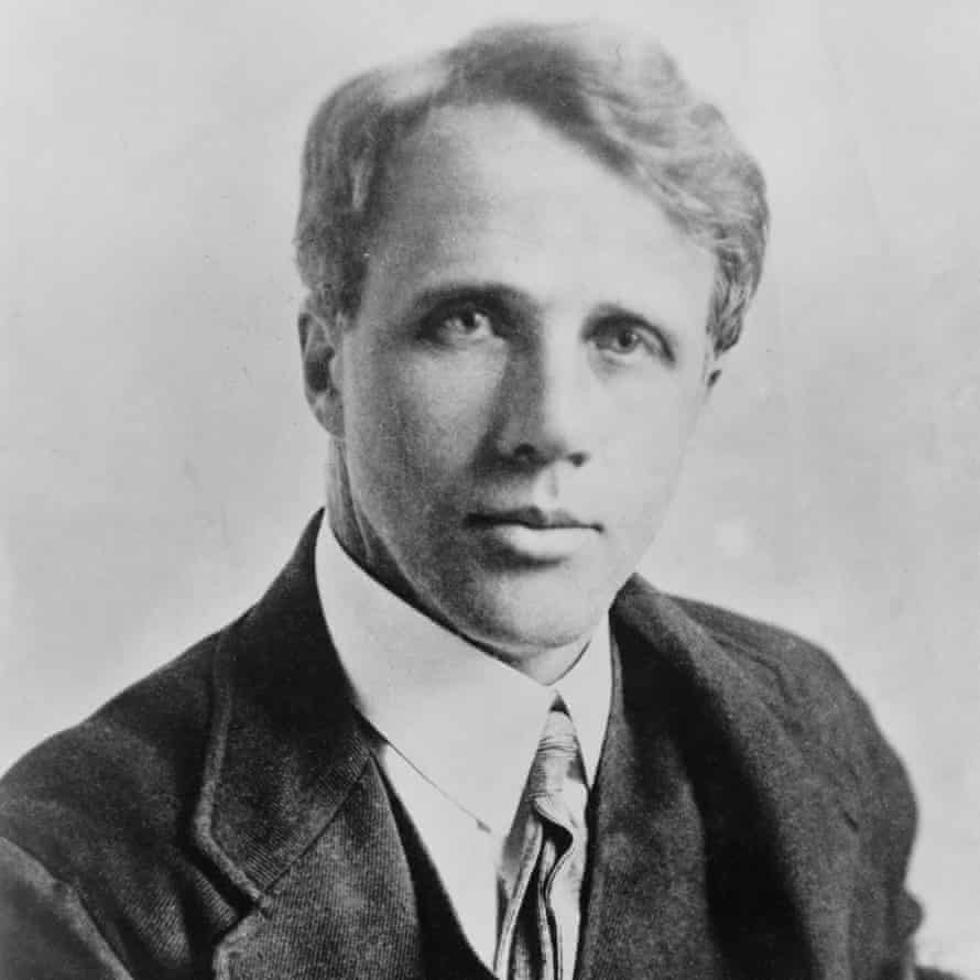 Robert Frost at about the time he lived in Dymock.