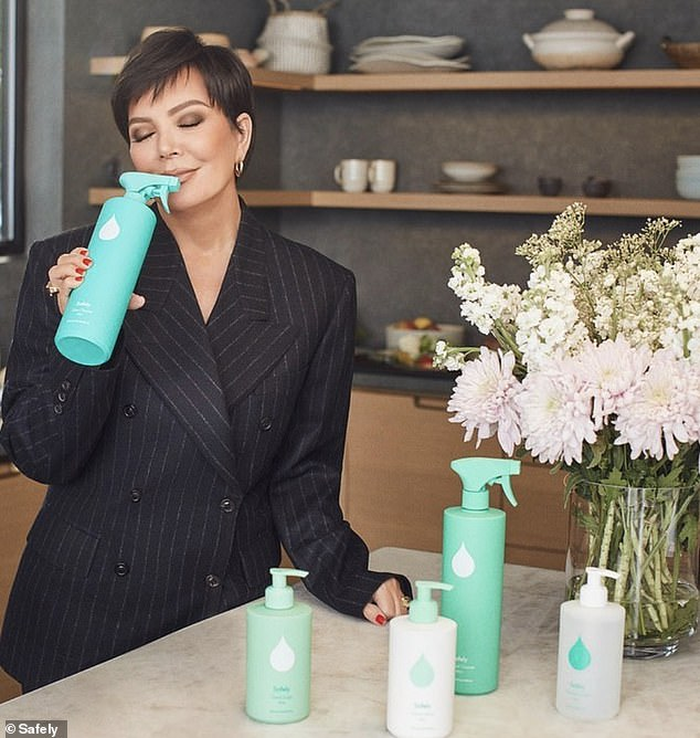 Jenner advertising the brand. She is said to be in 'crisis mode' after the bullying scandal erupted