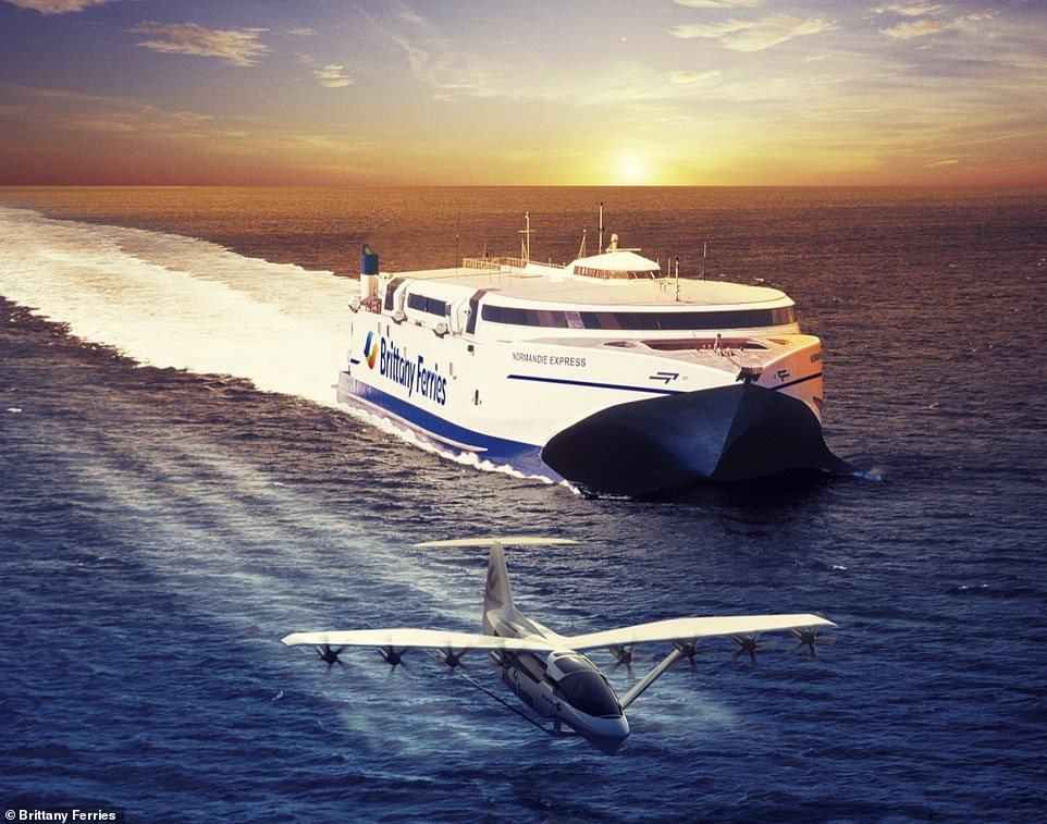 Operating a few metres above the water's surface, the fleet will combine the high speed of an aeroplane with the low operating cost of a ship