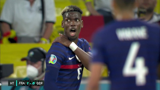 Paul Pogba is keen for Antonio Rudiger to avoid punishment for his bite