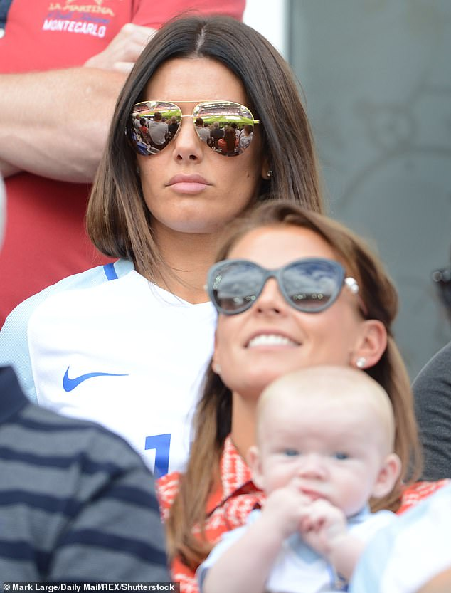 WAG war:It comes as it was reported on Thursday that Coleen's court battle with Rebekah Vardy is due to resume on Friday (pictured in 2016)