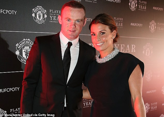Resume: The outing comes after it was reported on Thursday that Coleen's court battle with Rebekah, 39, is due to resume on Friday (Coleen andWayne Rooney pictured in 2016)