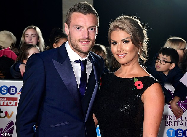 Battle: According to the Mirror , the preliminary hearing for their libel case is due to take place before England plays Scotland during Euro 2020 at London's Wembley (Rebekah and Jamie pictured in 2017)