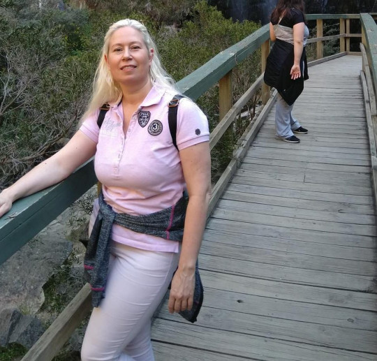Lydie pictured here in Morialta Falls, Australia (Collect/PA Real Life).