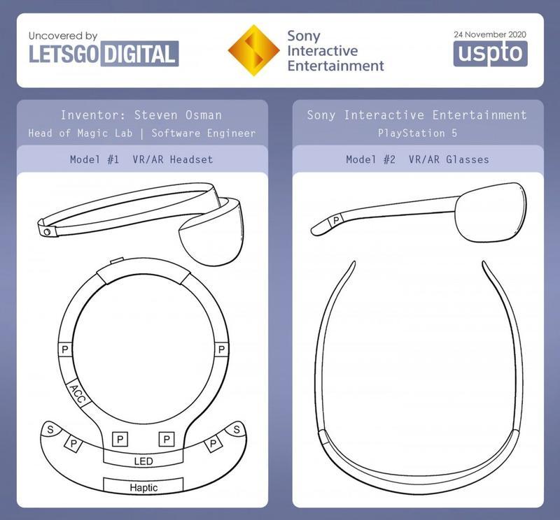 PSVR 2 haptics patent