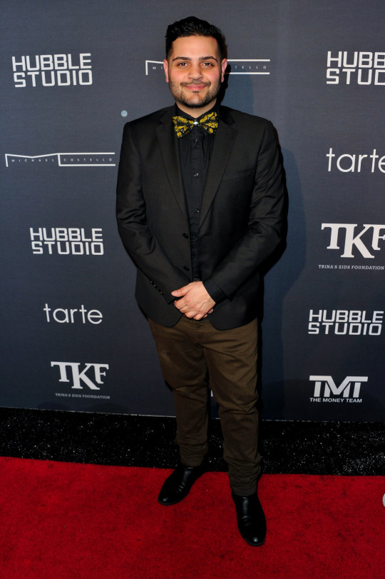 LOS ANGELES, CA - DECEMBER 10: Fashion designer Michael Costello attends Trina's Kid's Foundation 2nd annual Runway Wonderland Holiday Charity event benefiting The Boys & Girls Clubs of America at Hubble Studio on December 10, 2015 in Los Angeles, California. (Photo by Allen Berezovsky/WireImage)