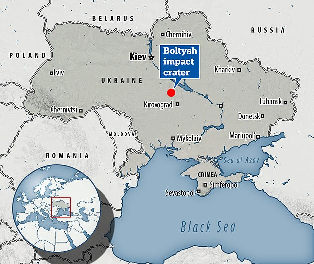 Boltysh is in the Kirovohrad Oblast (province), near the village of Bovtyshka, centralUkraine