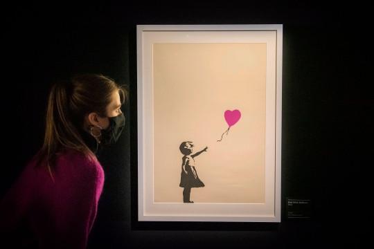 Art of Banksy exhibition