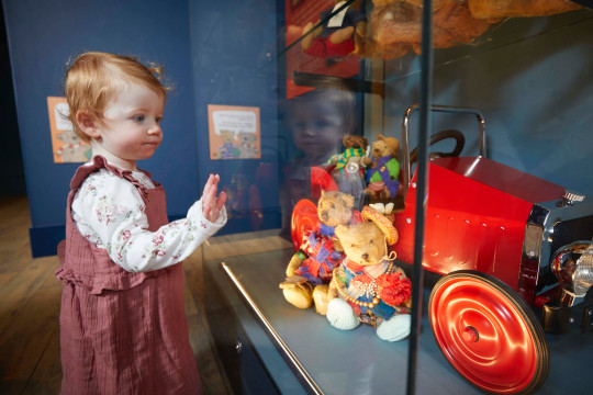 Milestones Museum in Basingstoke will host ?Mr Simpson?s Teddy Bear Museum? - a collection with a fascinating personal story, telling the history of teddy bears and their roles in people?s lives. Toy historian William Simpson collected nearly 300 bears over his lifetime, and gave each of them a name and a personality, and often a matching outfit - from racing driver to vicar. The oldest one dates from 1908.
